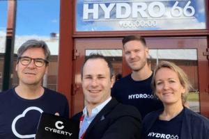 Hydro66 och Cyberty inleder partnerskap 2