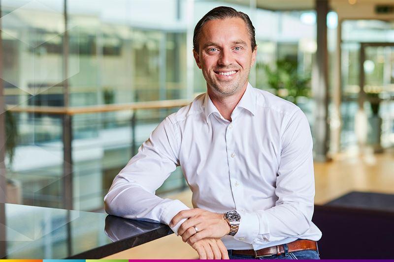Fredrik Alktun, Business Area Manager Workplace, Advania Sverige AB. Fotograf: Josef Eliasson