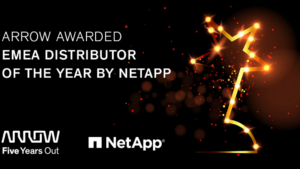 Arrow Electronics vinner NetApp EMEA 2020 Partner Excellence Award 3
