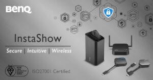 BenQ Instashow belönas med ISO27001-certifiering: Högsta säkerhet för ditt företag 3