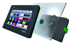 Cybersäker distansstyrning med nya operatörspanelen Harmony STM6 från Schneider Electric 2