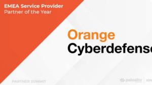 """Orange Cyberdefense har tilldelats utmärkelsen """"årets tjänsteleverantör i EMEA"""" av Palo Alto Networks 3"""