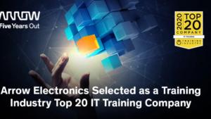 Arrow Electronics utsedd som Training Industry Top 20 IT Training Company 3