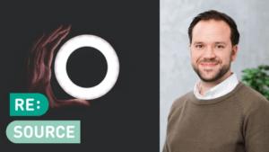 Han vill öka tempot på den cirkulära omställningen - Klas Cullbrand ny innovationsledare för RE:Source 2
