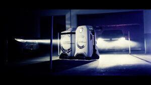 Volkswagen-koncernen visar prototyp av den mobila laddningsroboten 2