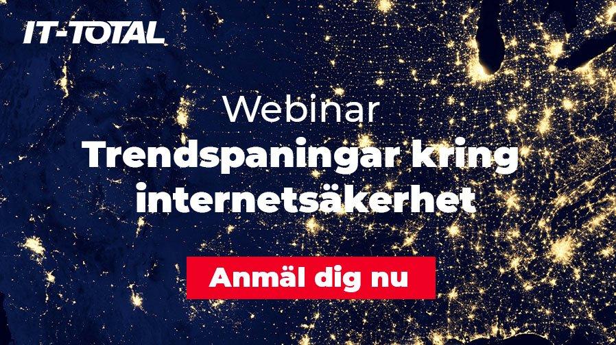 Webinar | Trendspaningar kring internetsäkerhet