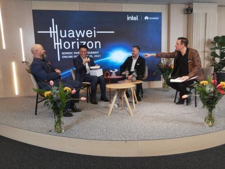 De tog Gulddrake när Huawei Horizon gick av stapeln idag