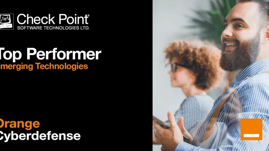 Orange Cyberdefense vinner Top Performer award i kategorin -Emerging Technologies