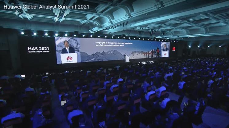 Intelligent värld i fokus på Huawei Global Analyst Summit 2021
