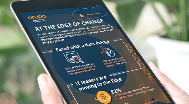 Fler säkerhetsfunktioner för Arubas Edge-plattform