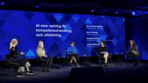 Huawei framtidsspanade kring AI på Techarenan