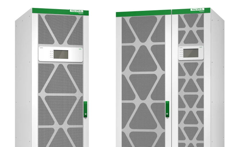 Schneider Electric utökar Easy UPS 3L från 250 kVA till 600 kVA för ännu säkrare verksamhetskontinuitet