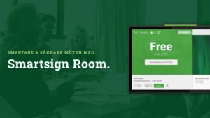 Ny produkt från Smartsign skapar förutsättningar för säkrare möten