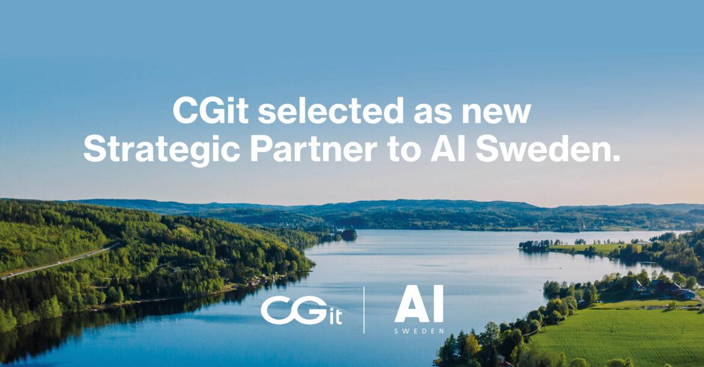 Mölndalsföretaget CGit skriver strategiskt ramavtal med AI Sweden