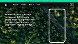 I juni lanseras Eco Rating för mobiltelefoner i hela Europa