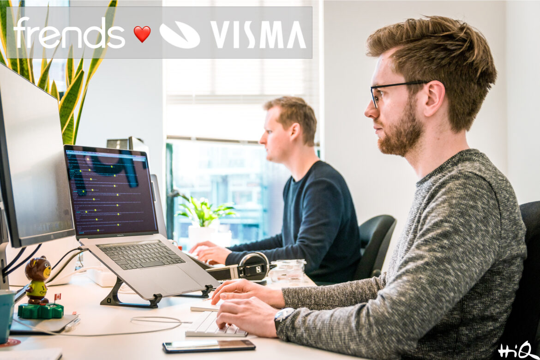 HiQs Frends i samarbete med Visma Connect, första steget blir den nederländska marknaden