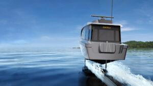 Svenska Candela lanserar världens effektivaste båtmotor – elektriska CANDELA C-POD