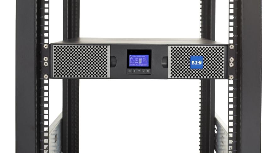 Eaton lanserar idag litiumjon-UPS:en 9PX för avbrottsfri kraft