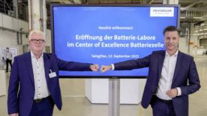 Volkswagen tar nästa steg mot att utveckla och producera egna battericeller
