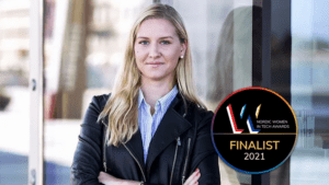 Cecilia Videcél är finalist i Nordic Women in Tech Awards
