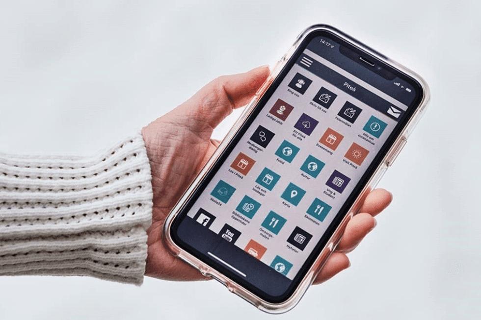 Piteå appen upphör att fungera i december månad