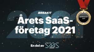 RaceID nominerat till årets SaaS-företag under SaaS Summit
