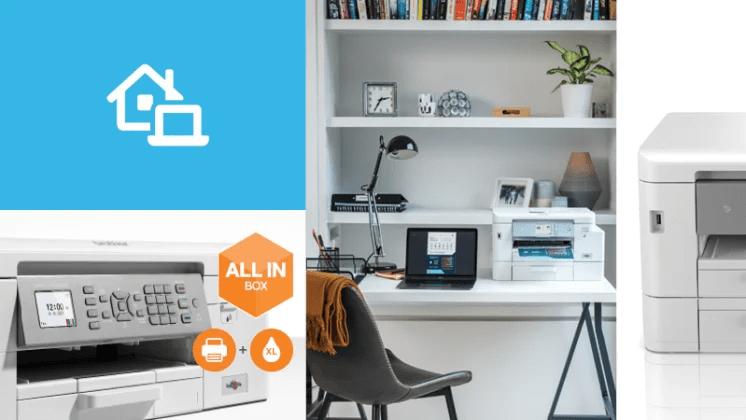 Brother lanserar skrivarserie för effektivare arbete på hemmakontoret
