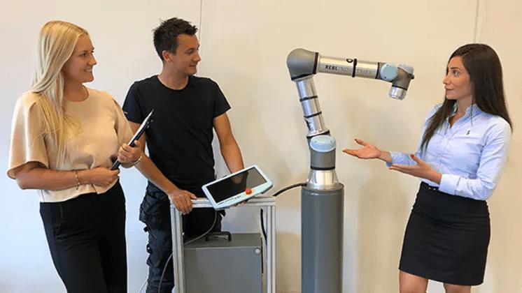 Rebl Industries bemannar med robotar till sina kunder