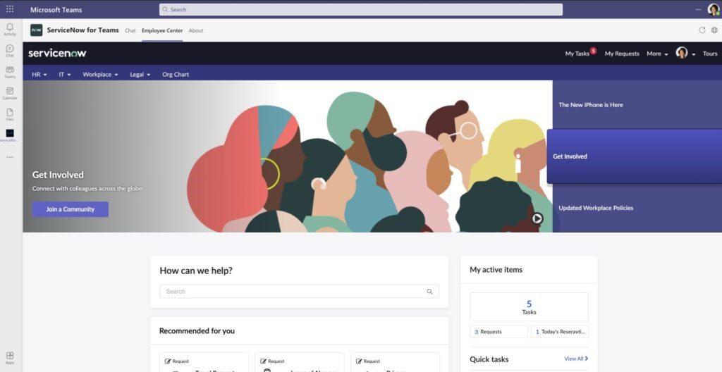 ServiceNow och Microsoft fördjupar partnerskapet kring Teams