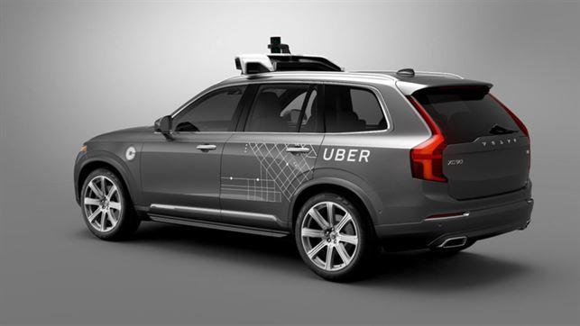 Volvo Cars och Uber utvecklar självkörande bilar tillsammans