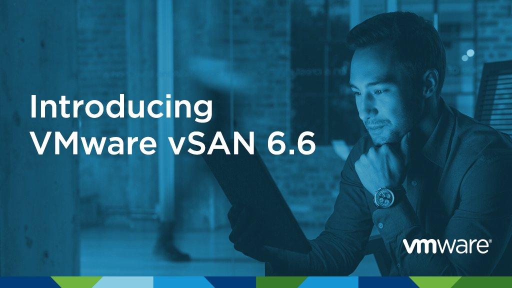 VMware vSAN 6.6 snabbar på moderniseringen av datacenter