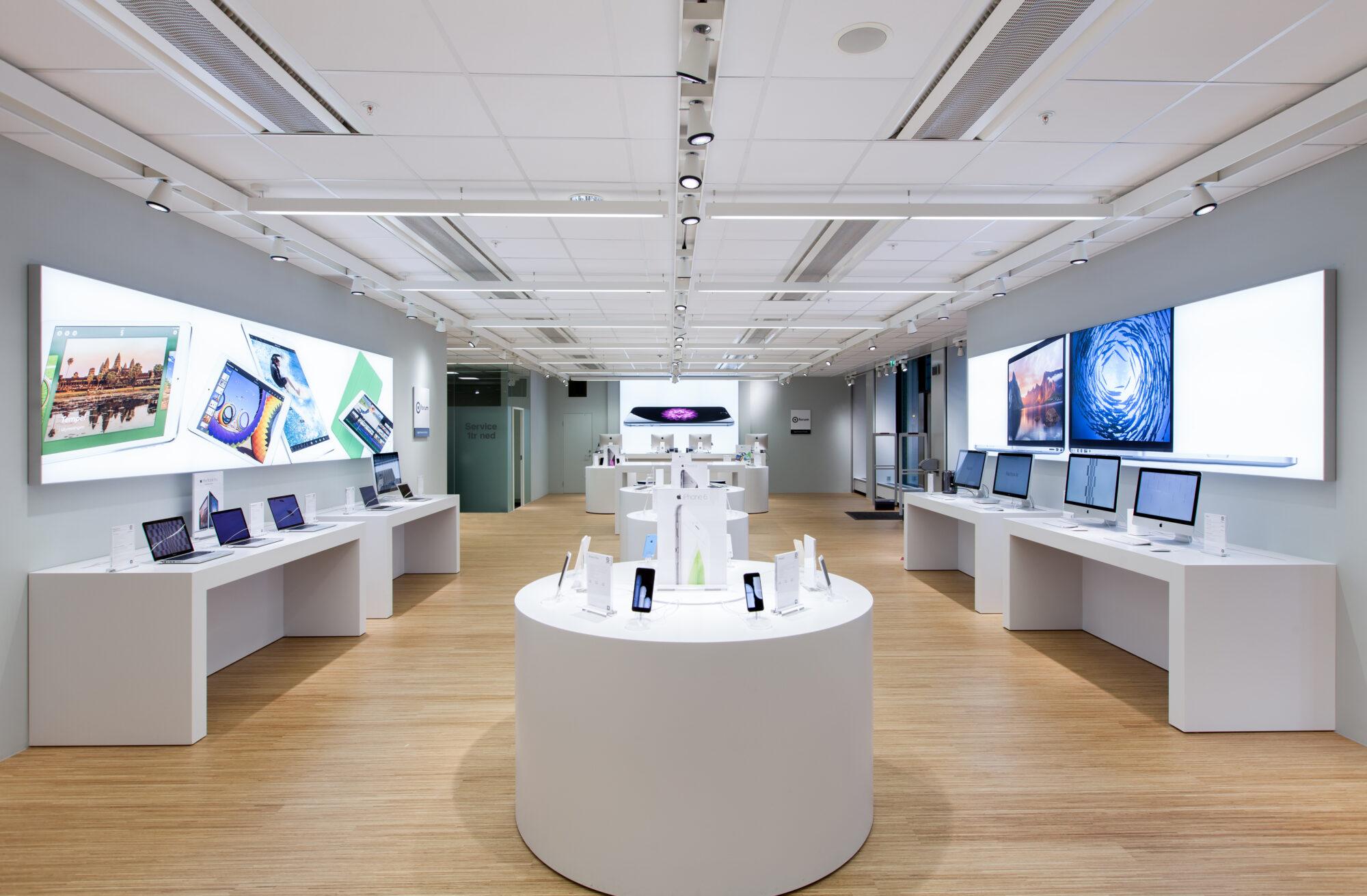 Kanalhjälte: Apples favorit ökar på service och företag