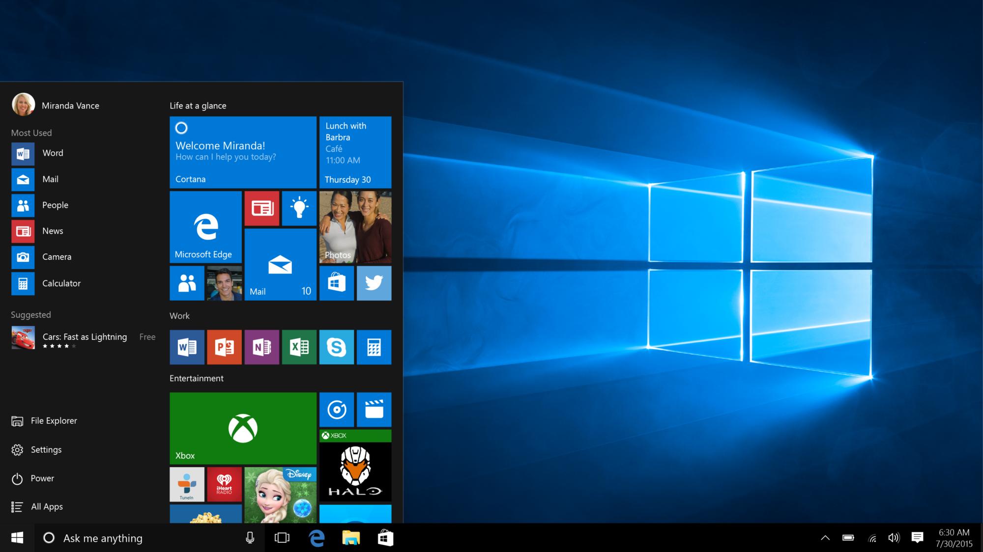 Windows 10 och marknaden