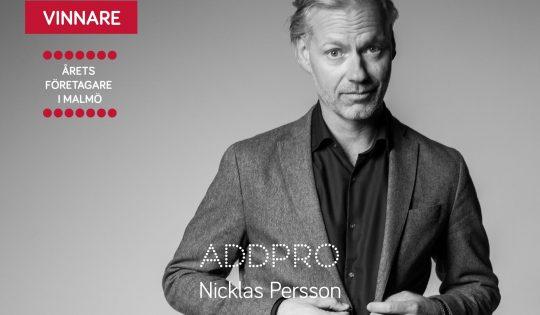 AddPro AB – Årets företagare i Malmö 2016