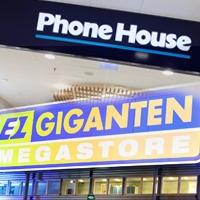Sakernas internet driver Elgiganten-Phonehouse-affär