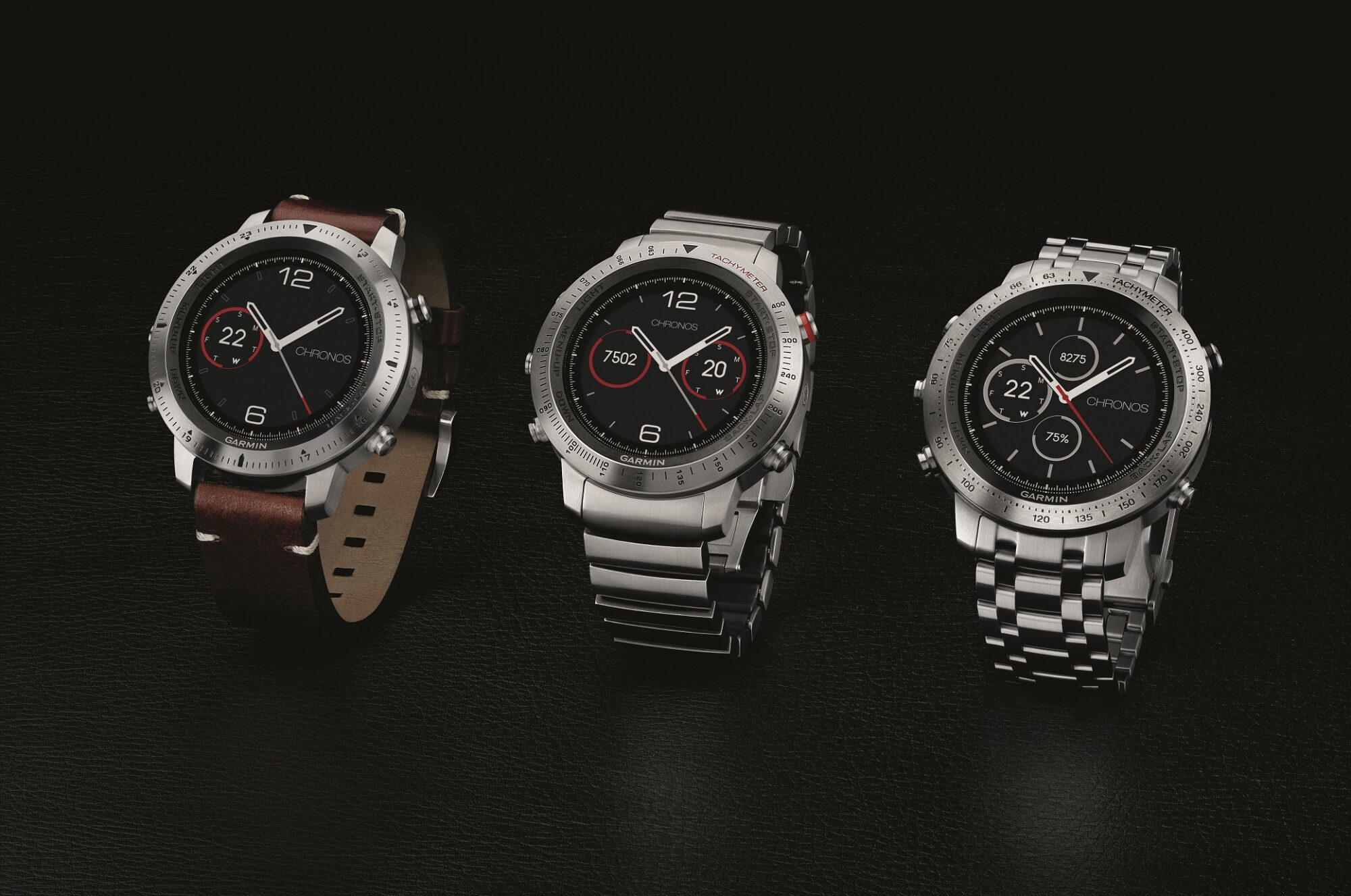 Garmin® fēnix® Chronos en sofistikerad klocka med GPS för idrottare och äventyrare