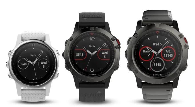 Garmin presenterar fēnix 5-serien Multisportklockor för atleter och äventyrare