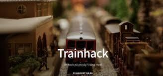 Microsoft med på Trainhack-tåget