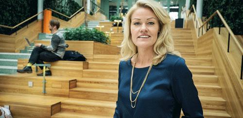 Mia Irborg enade entreprenörerna – byggde starkare kedja